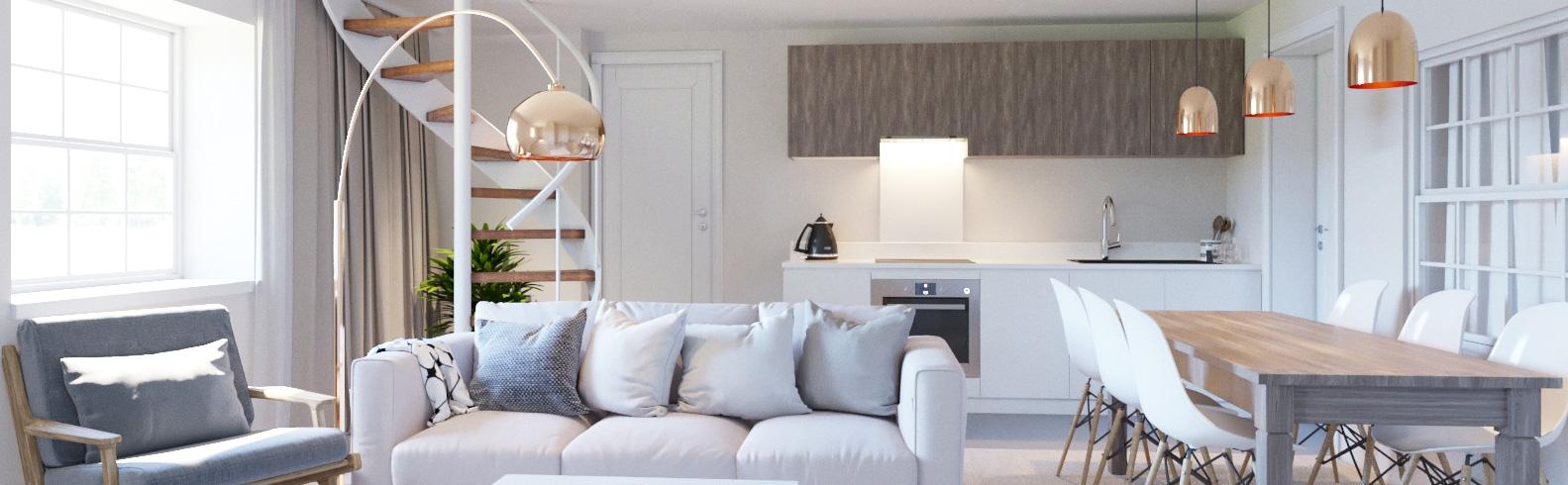 concierge living space